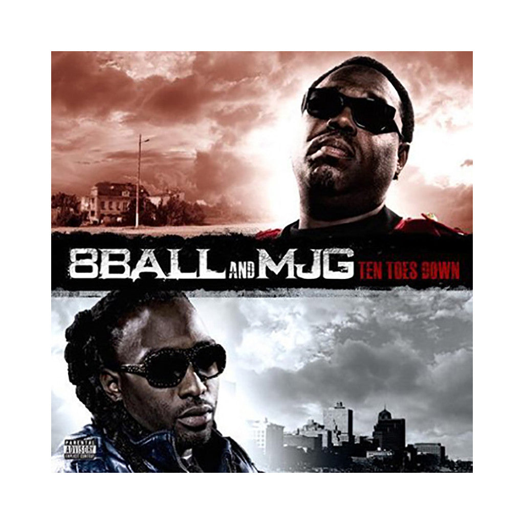 8 Ball & MJG - 'Ten Toes Down' [CD]
