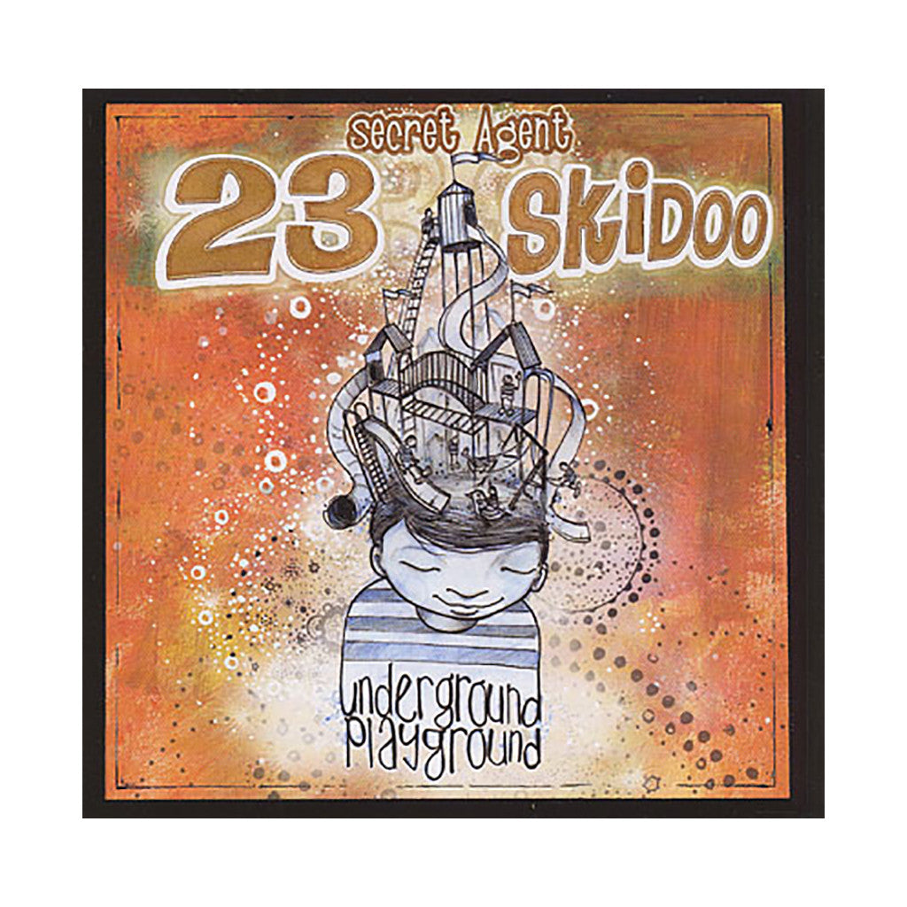 Secret Agent 23 Skidoo - 'Underground Playground' [CD]