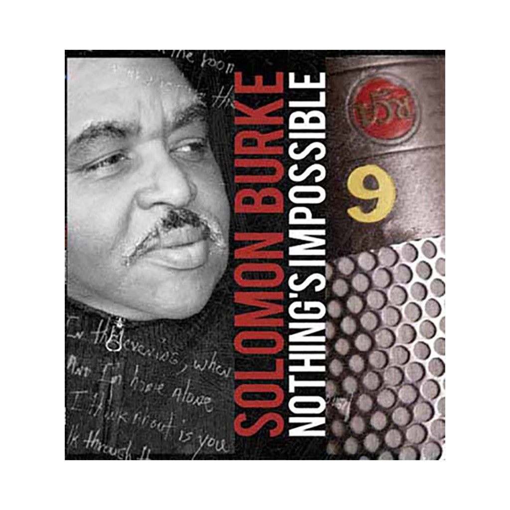 <!--020101130001141-->Solomon Burke - 'Nothing's Impossible' [(Black) Vinyl [2LP]]