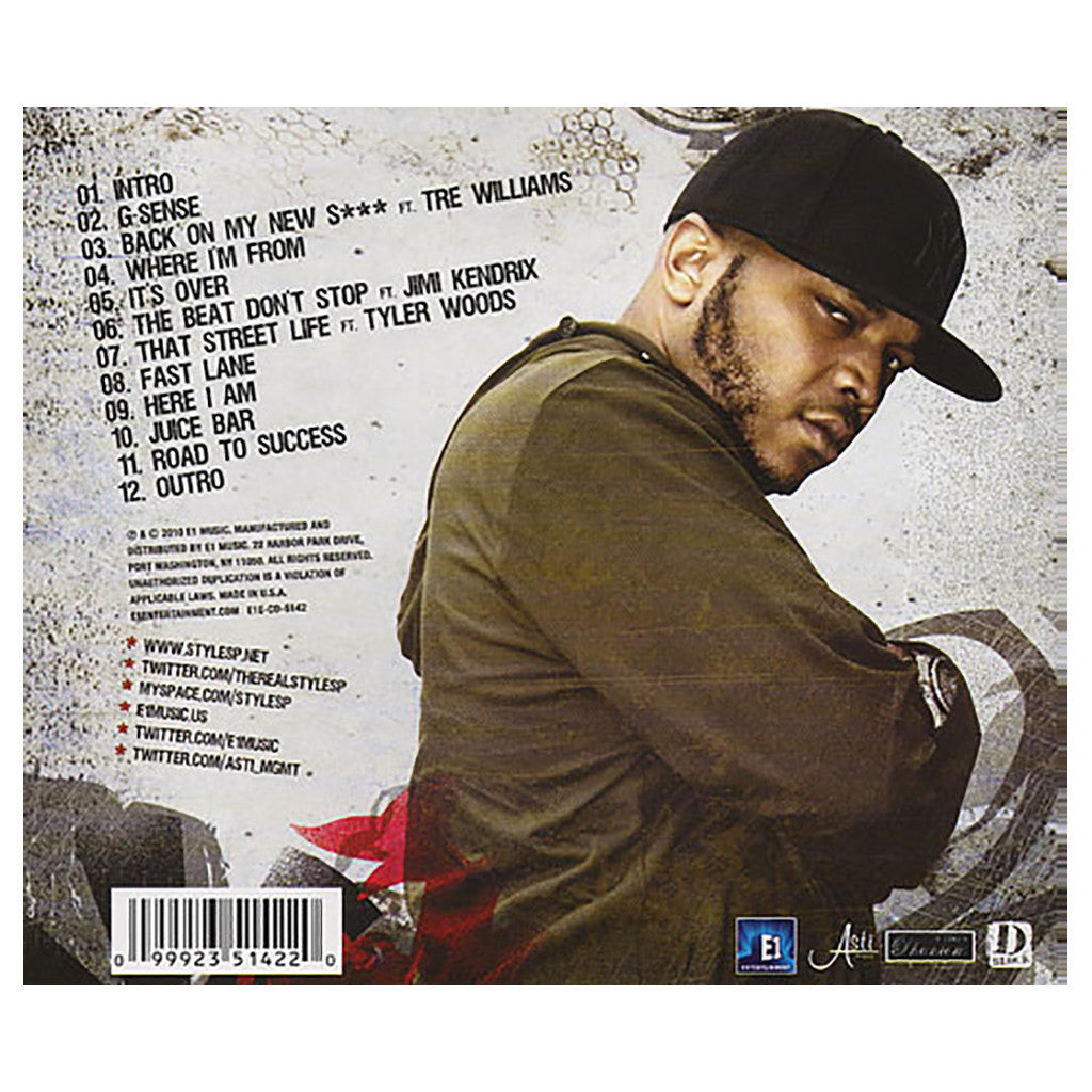 <!--120100525021770-->Styles P - 'The Ghost Dub-Dime' [CD]