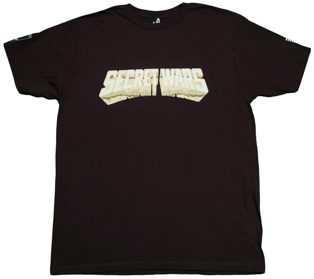 <!--2011121350-->EightArms & BlackMist - 'Secret Wars' [(Black) T-Shirt]
