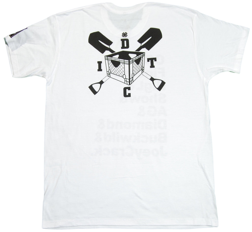 <!--2012022836-->EightArms & BlackMist (D.I.T.C.) - 'D.I.T.C.' [(White) T-Shirt]