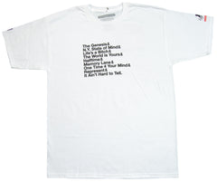 <!--2012071759-->EightArms & BlackMist (Nas) - 'Matic' [(White) T-Shirt]