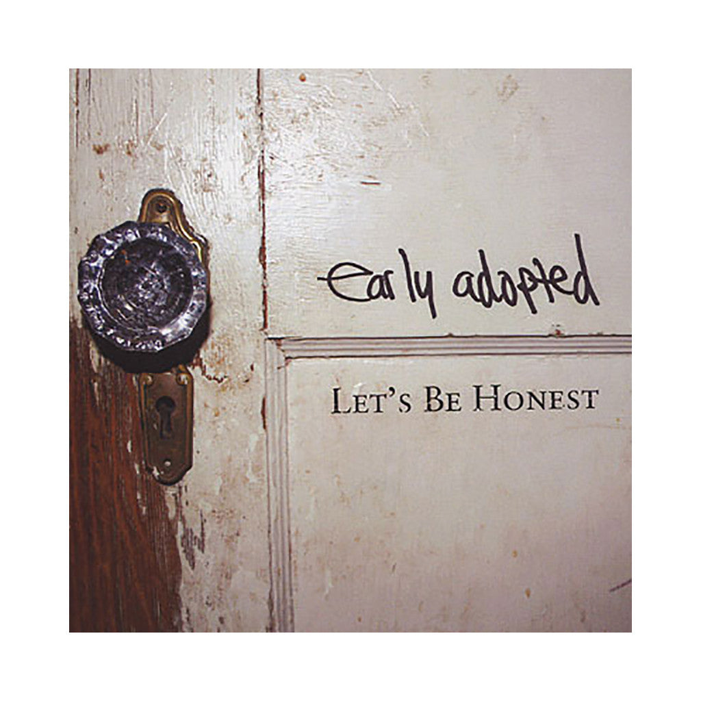 Early Adopted - 'Let's Be Honest' [CD]