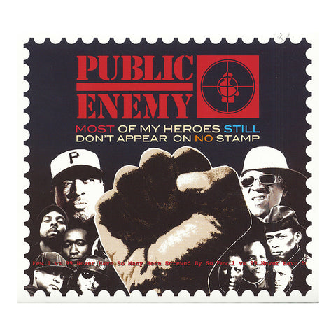 Public Enemy - 'Most Of My Heroes Still Don't Appear On No Stamp' [CD]