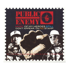 <!--120121113050259-->Public Enemy - 'Most Of My Heroes Still Don't Appear On No Stamp' [CD]