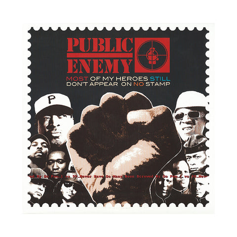 Public Enemy x Serato Pressings - 'Most Of My Heroes Still Don't Appear On No Stamp' [(Black) Vinyl [2LP]]