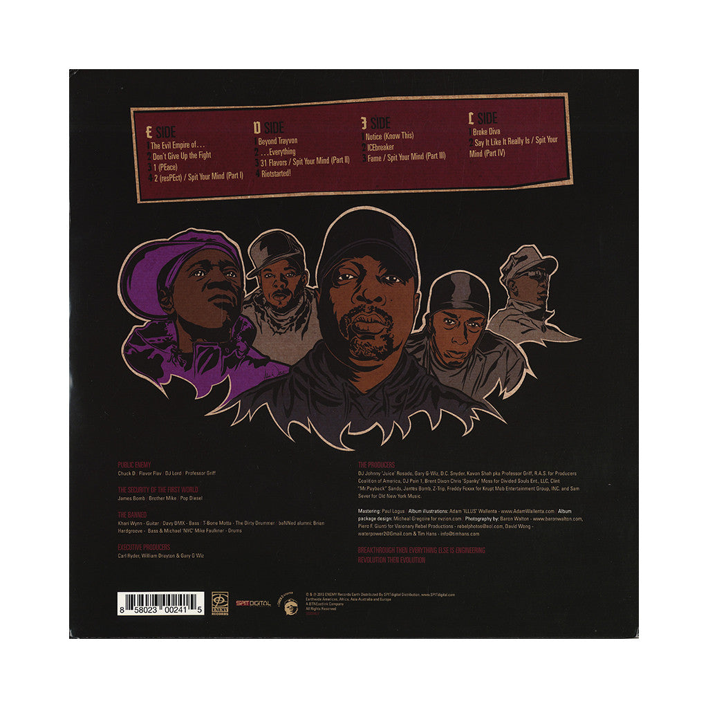 <!--2014041948-->Public Enemy - 'The Evil Empire of Everything' [(Black) Vinyl [2LP]]
