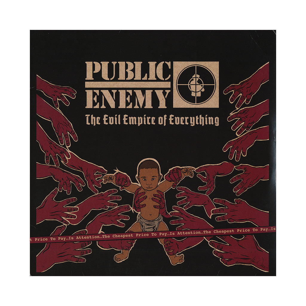 <!--120140419062979-->Public Enemy - 'The Evil Empire of Everything' [(Black) Vinyl [2LP]]