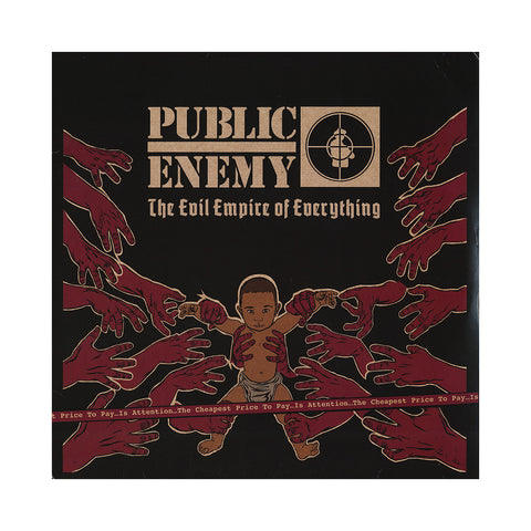 Public Enemy - 'The Evil Empire of Everything' [(Black) Vinyl [2LP]]