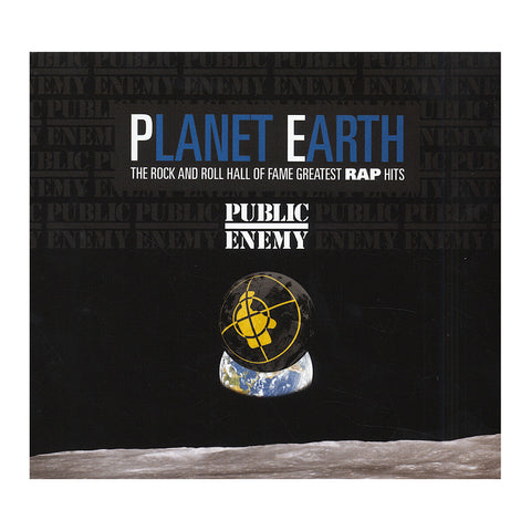 Public Enemy - 'Planet Earth: The Rock And Roll Hall Of Fame Greatest Rap Hits' [CD]
