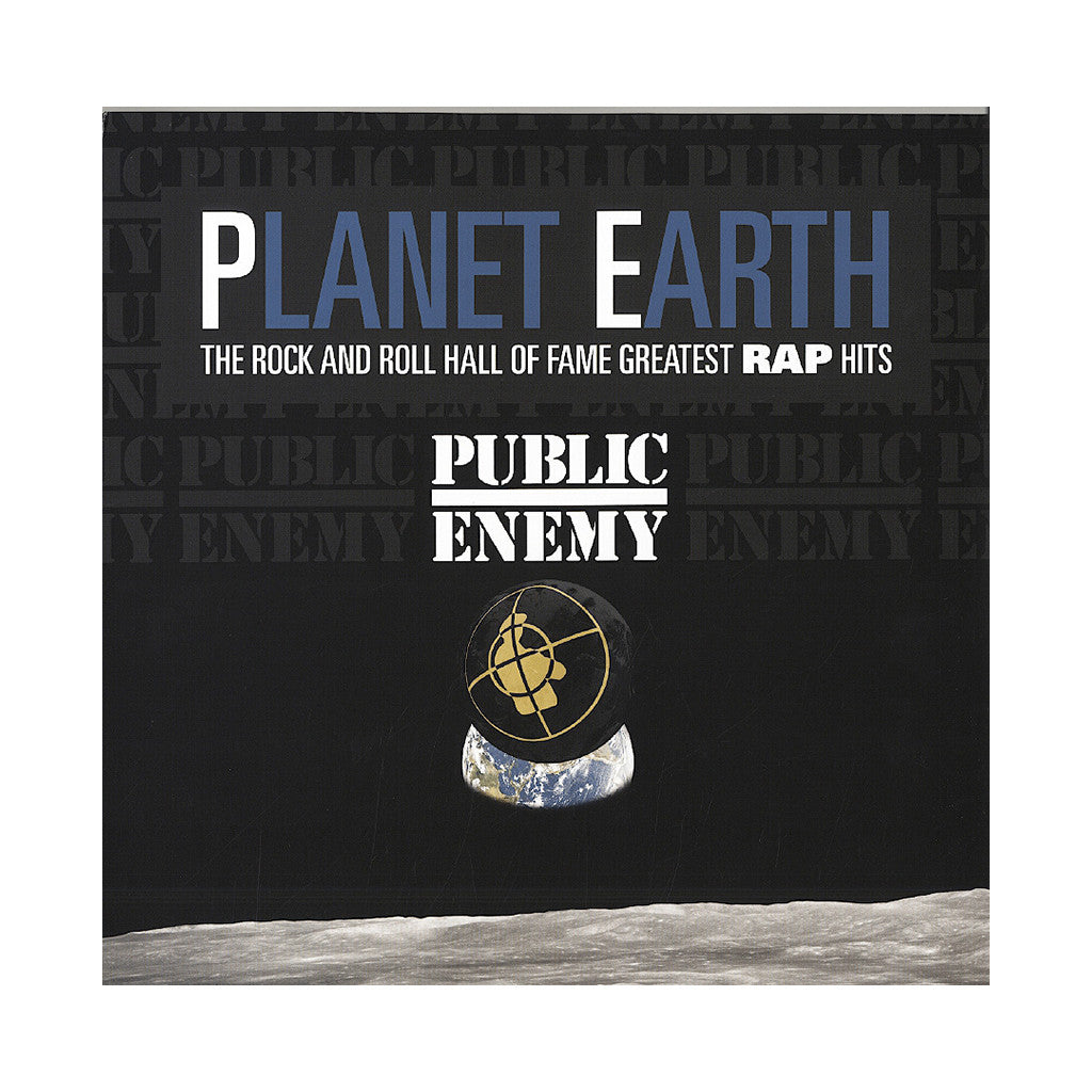 <!--020130507054501-->Public Enemy - 'Planet Earth: The Rock And Roll Hall Of Fame Greatest Rap Hits' [(Black) Vinyl LP]