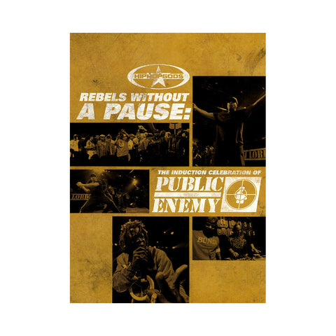 Public Enemy - 'Rebels Without A Pause: The Induction Celebration of Public Enemy' [DVD]
