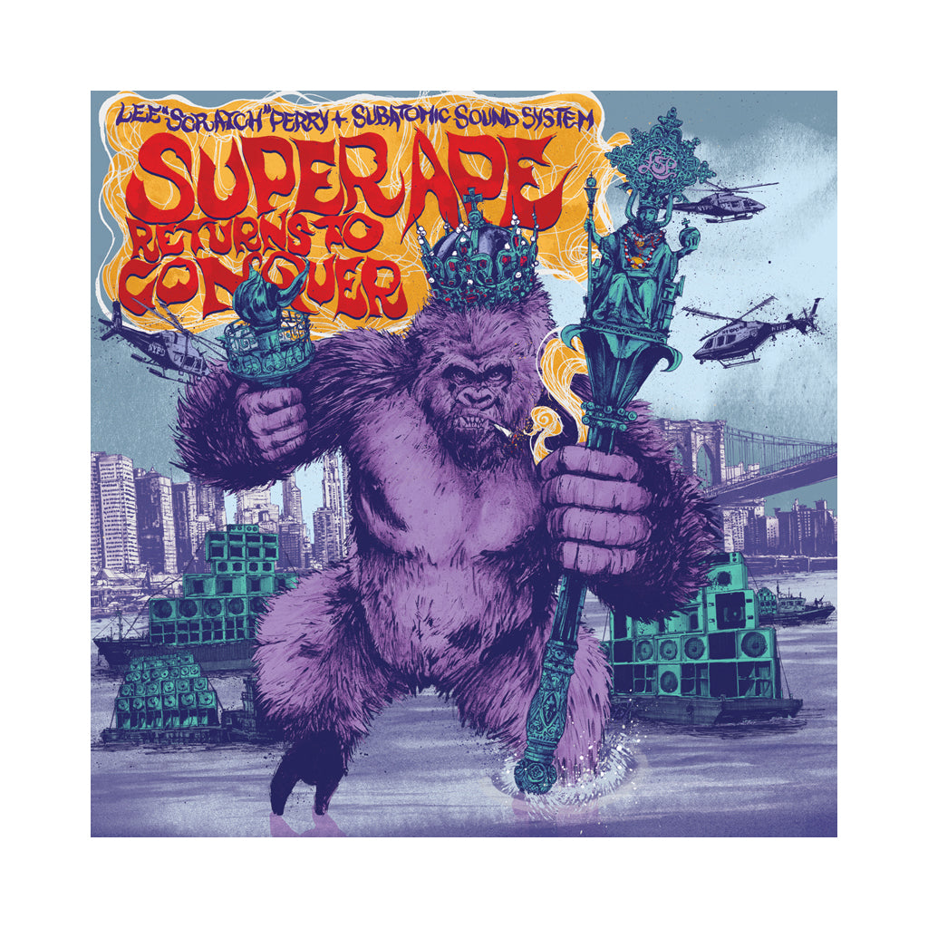 Lee Scratch Perry & Subatomic Sound System - 'Super Ape Returns To Conquer' [(Black) Vinyl LP]