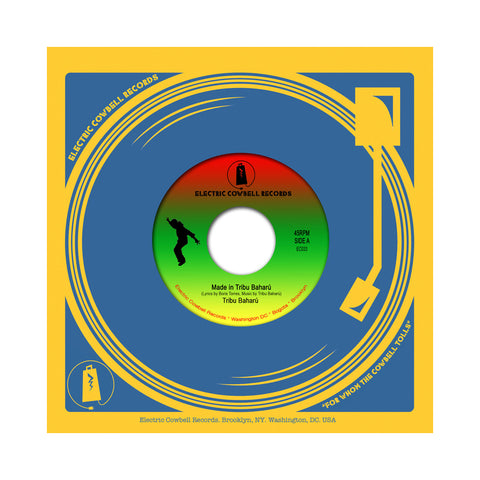 "[""Tribu Baharu - 'Made In Tribu Baharu' [(Black) 7\"" Vinyl Single]""]"
