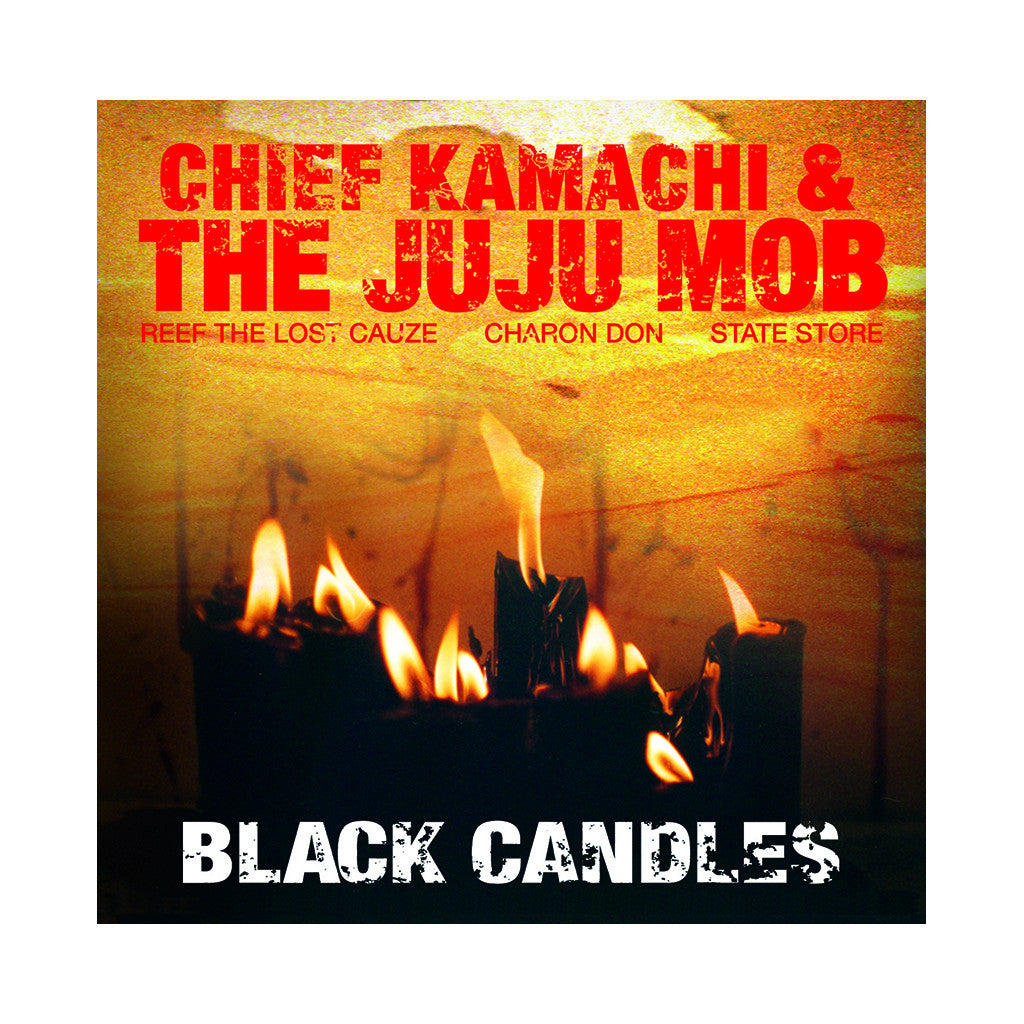 Chief Kamachi & The Juju Mob - 'Black Candles' [CD]