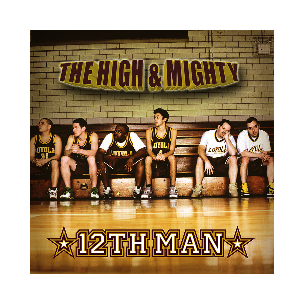 The High & Mighty - '12th Man' [(Black) Vinyl [2LP]]