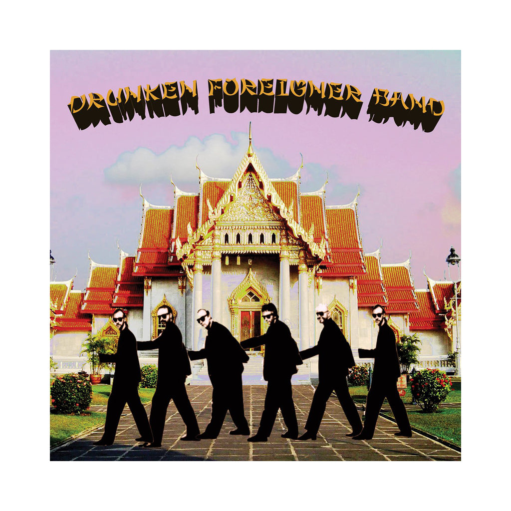 Drunken Foreigner Band - 'White Guy Disease' [(Black) Vinyl LP]