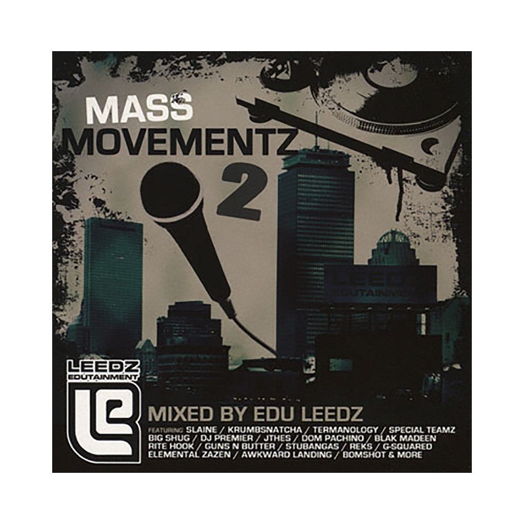 Edu Leedz - 'Mass Movementz Vol. 2' [CD]