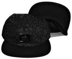 <!--020131029060936-->Entree - 'Brandon' [(Black) Five Panel Camper Hat]