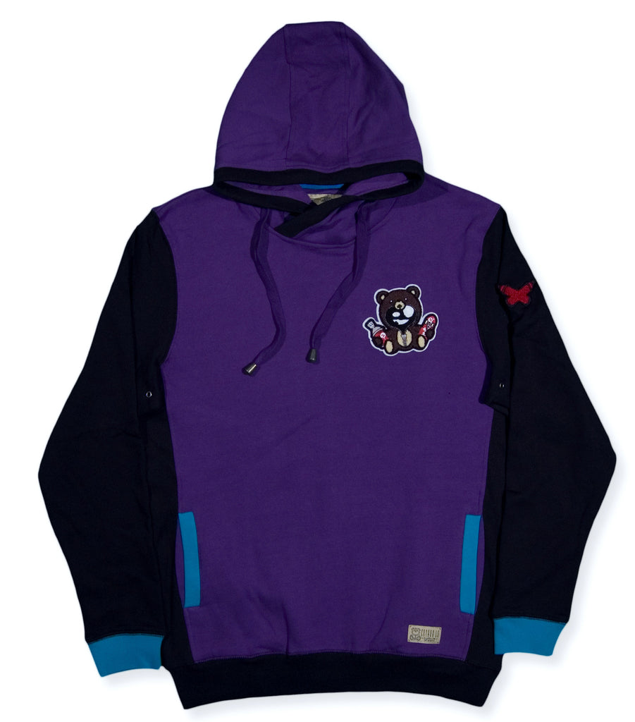 <!--2013121711-->Entree - 'Classic Teddy' [(Purple) Hooded Sweatshirt]