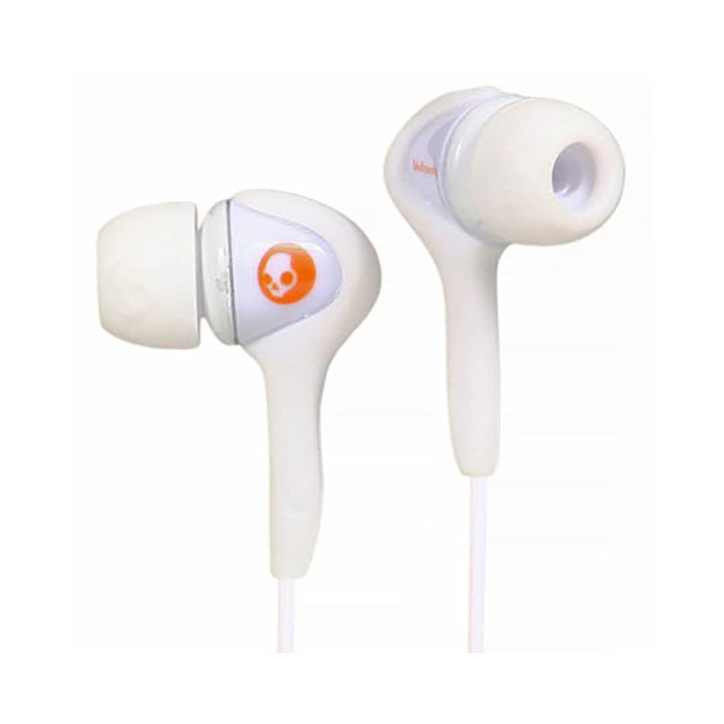 <!--020081209015580-->Skullcandy - 'Smokin Buds' [(White) Earbuds]