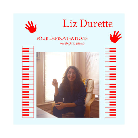 "[""Liz Durette - 'Four Improvisations' [(Black) Vinyl LP]""]"