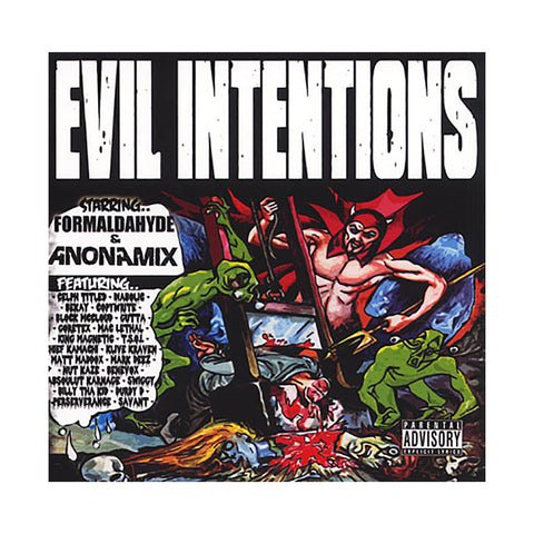 Evil Intentions - 'Evil Intentions' [CD]