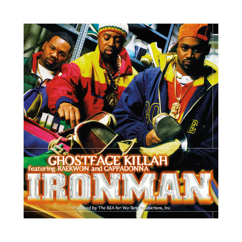 "[""Ghostface Killah - 'Ironman' [(Black) Vinyl [2LP]]""]"