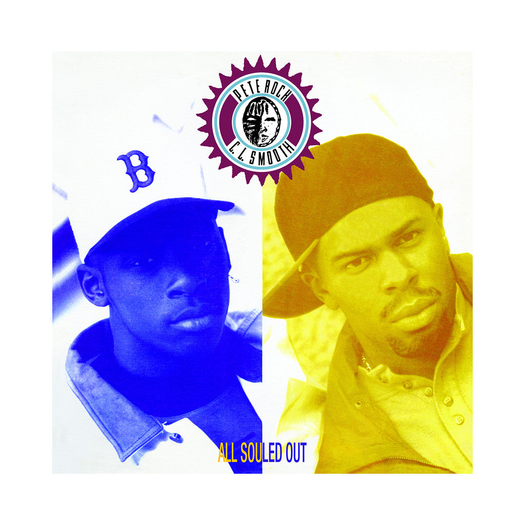 <!--019910625011726-->Pete Rock & CL Smooth - 'All Souled Out' [(Black) Vinyl EP]