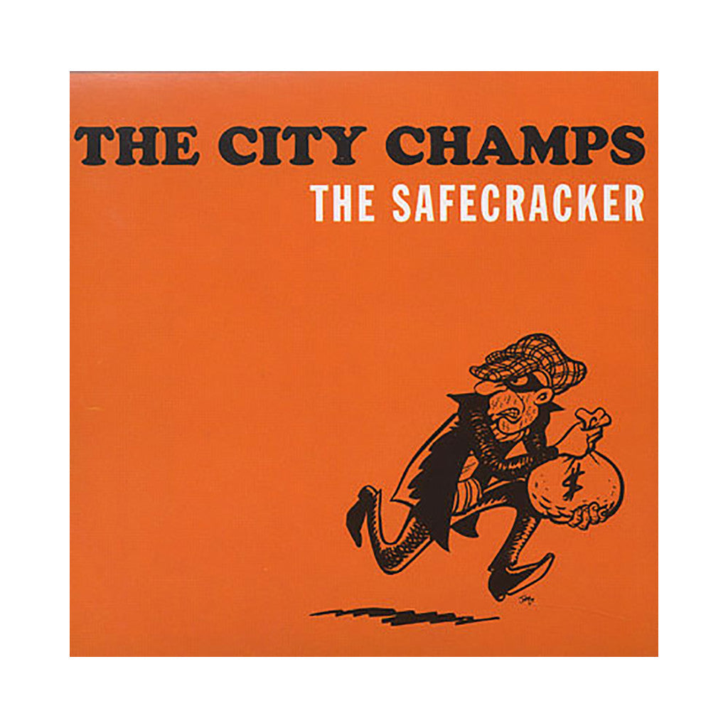 The City Champs - 'The Safecracker' [CD]