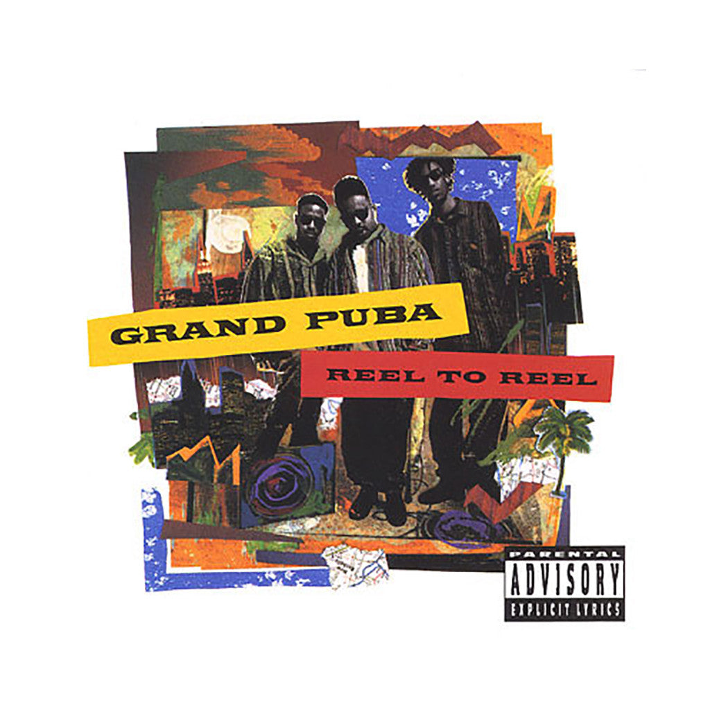 <!--119921020016617-->Grand Puba - 'Reel To Reel' [CD]