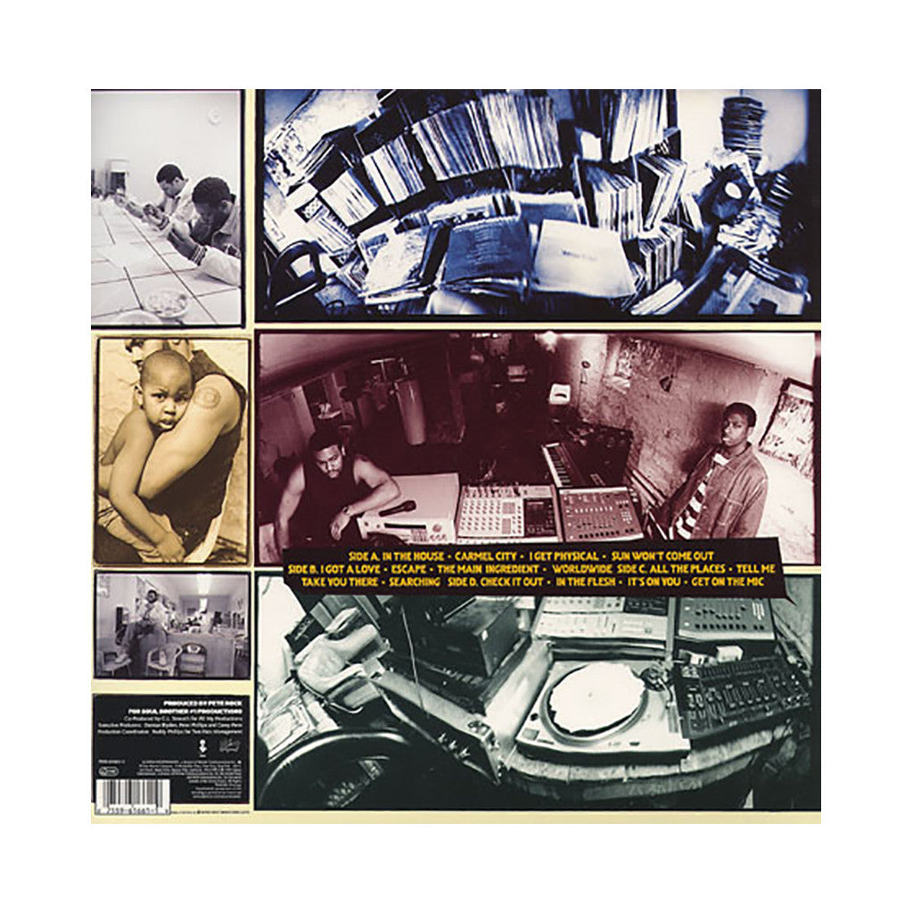 <!--119941108011725-->Pete Rock & CL Smooth - 'The Main Ingredient' [(Black) Vinyl [2LP]]