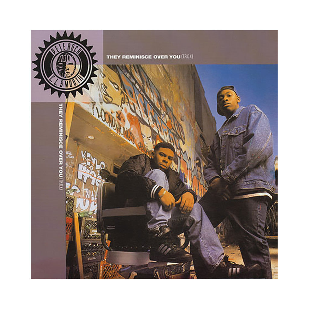 "Pete Rock & CL Smooth - 'They Reminisce Over You (T.R.O.Y.)/ Creator (Remix)/ Creator' [(Black) 12"" Vinyl Single]"