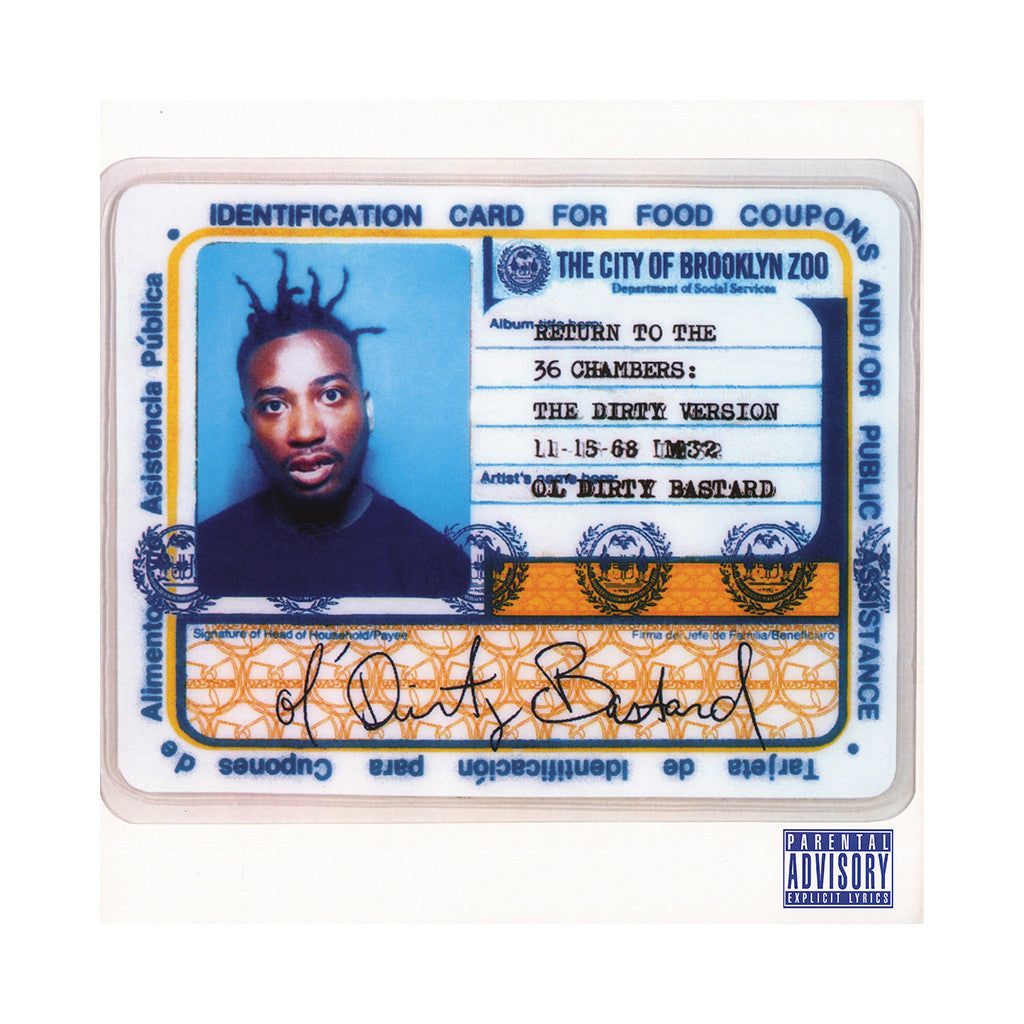 Ol' Dirty Bastard - 'Return To The 36 Chambers: The Dirty Version' [CD]