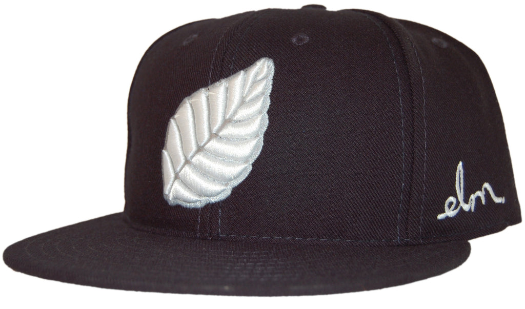 <!--020110712032809-->Elm: City Series (New York) - 'Leaf - Yankees' [(Dark Blue) Snap Back Hat]