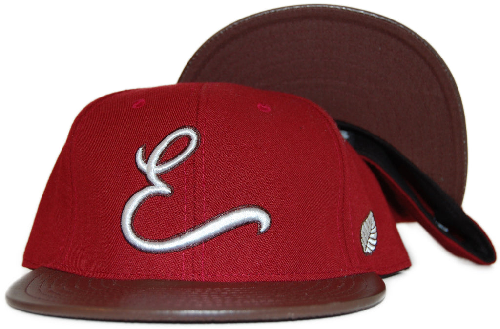 <!--2011091337-->Elm - 'Homerun' [(Dark Red) Fitted Hat]