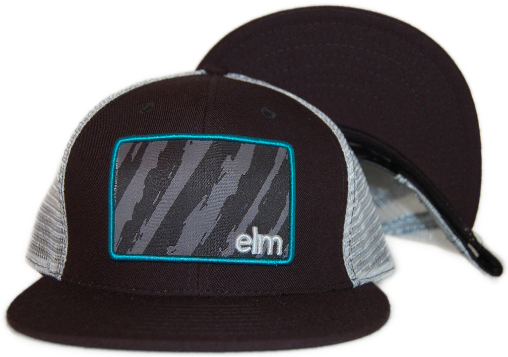 <!--2011091334-->Elm - 'The Vandal Trucker' [(Black) Snap Back Hat]