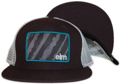 <!--020110913035638-->Elm - 'The Vandal Trucker' [(Black) Snap Back Hat]