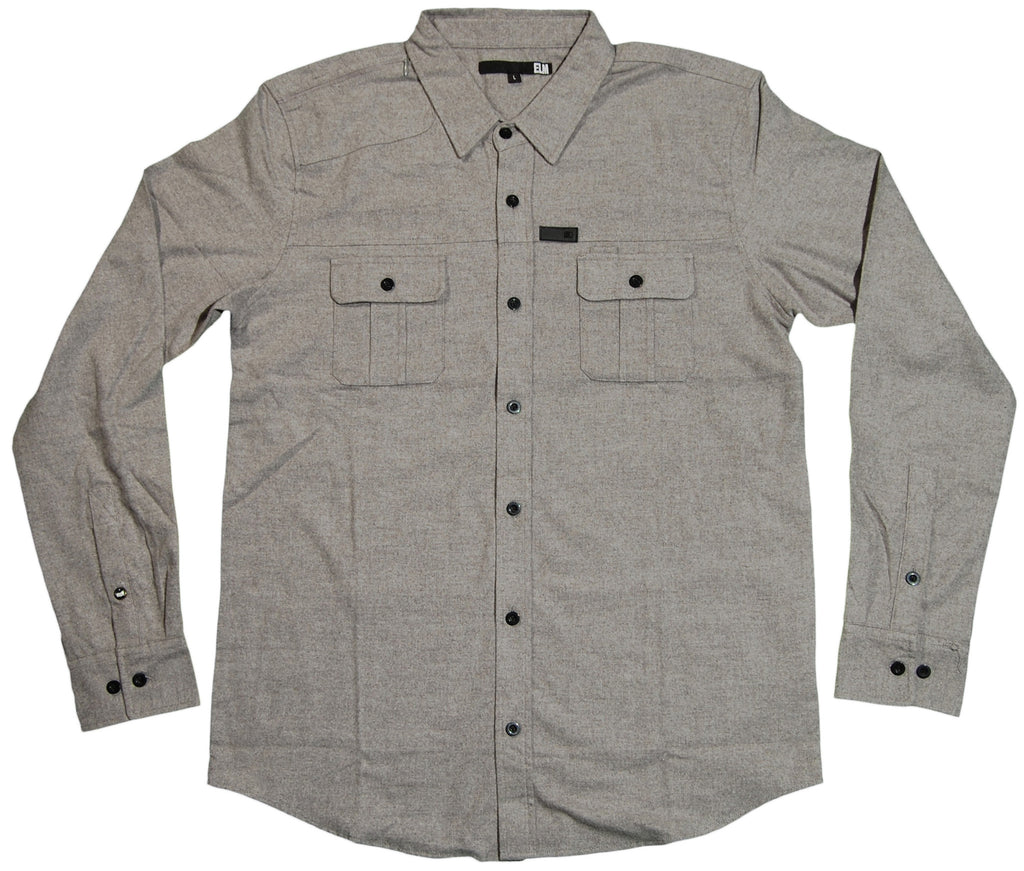 <!--2011091338-->Elm - 'Davis Flannel' [(Gray) Button Down Shirt]