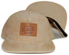 <!--020121016050466-->Elm - 'Premium Goods' [(Light Brown) Strap Back Hat]