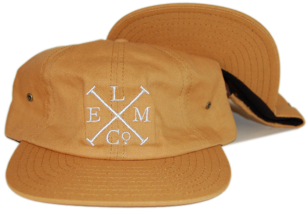 <!--020131008060278-->Elm - 'Lewis' [(Dark Yellow) Strap Back Hat]
