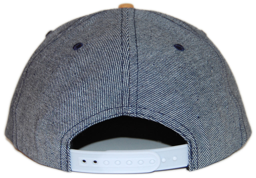 <!--020131008060279-->Elm - 'Thompson - Mustard' [(Dark Blue) Snap Back Hat]