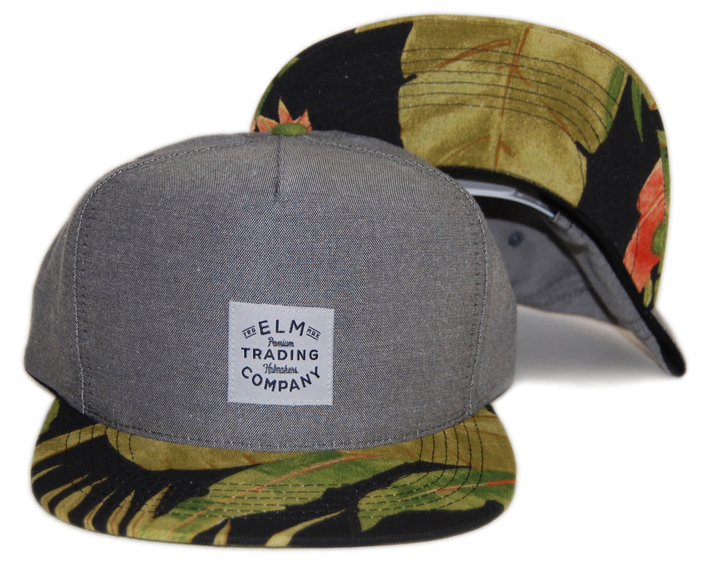 <!--2013102259-->Elm - 'Jungle' [(Dark Gray) Snap Back Hat]