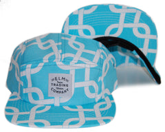 <!--020131022060690-->Elm - 'Linked' [(Light Blue) Five Panel Camper Hat]
