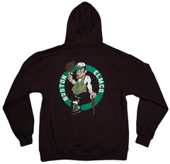 <!--2011121348-->Elm: City Series (Boston) - 'Celtics' [(Black) Hooded Sweatshirt]