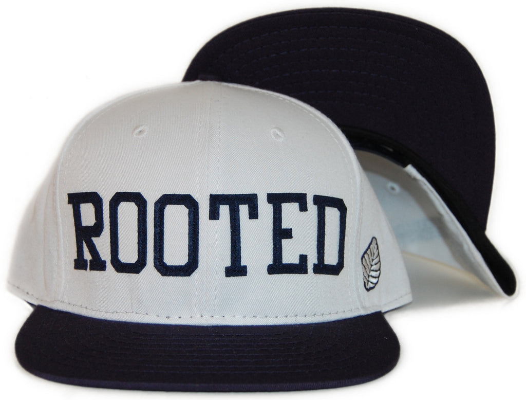 <!--020120306043242-->Elm - 'Rooted' [(White) Snap Back Hat]
