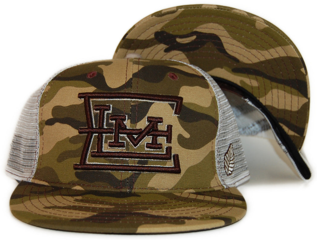 <!--2012030630-->Elm - 'Figueroa Trucker' [(Camo Pattern) Snap Back Hat]