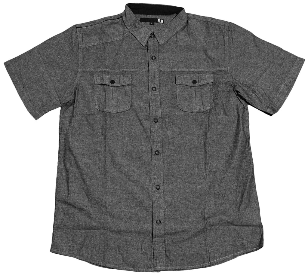<!--2012030641-->Elm - 'Alameda Woven' [(Dark Gray) Button Down Shirt]