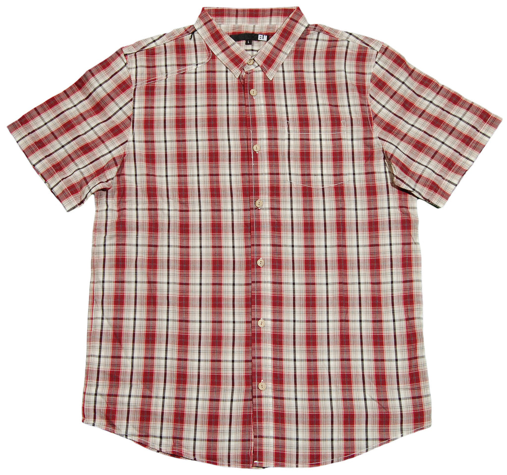 <!--2012030602-->Elm - 'Crenshaw Woven' [(Dark Red) Button Down Shirt]